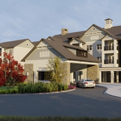 Town Center Rendering 4